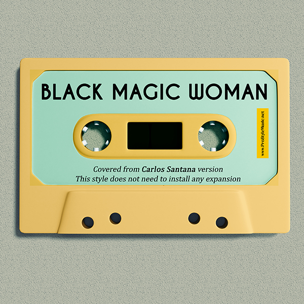 Black Magic Woman – Voice & Style Expansion Packs for Yamaha