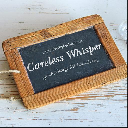 Careless whisper Yamaha Genos