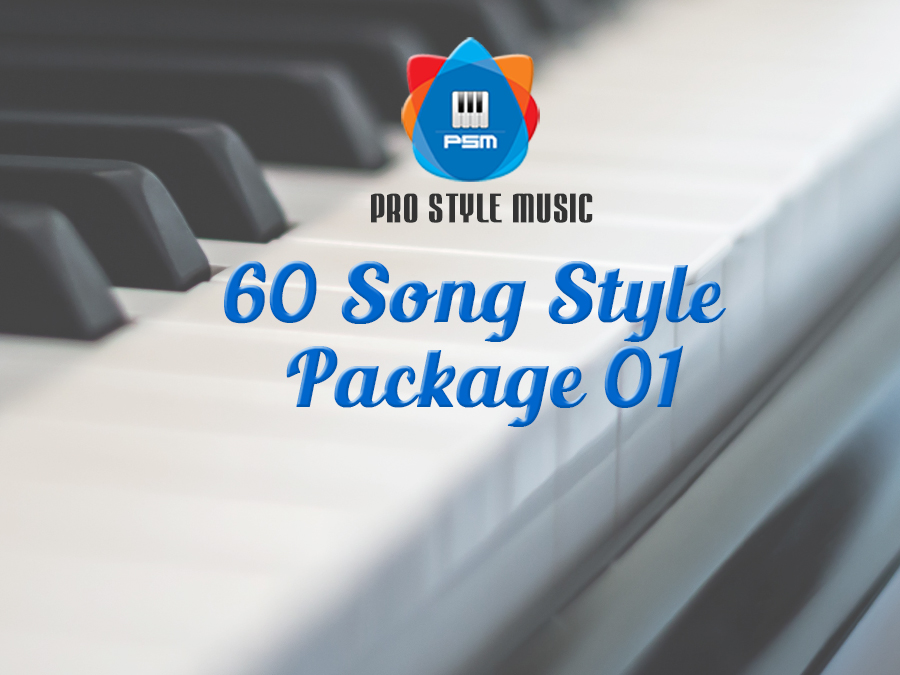 60 Song Styles package 01 – Voice & Style Expansion Packs