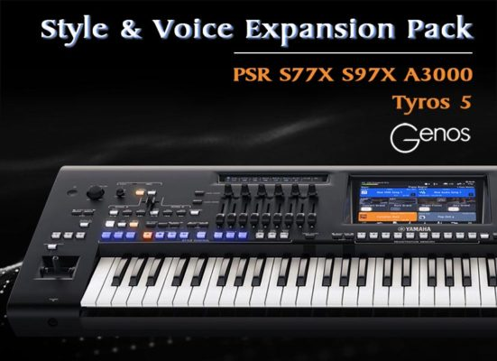GIGA PACK VOL 04 3000 SONGSTYLES SONG STYLES YAMAHA PSR-S670 PSR-S770 S750 S775